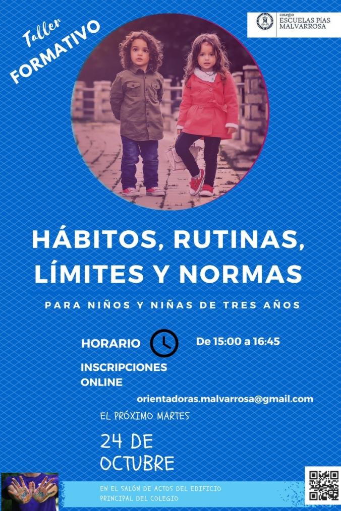 HÁBITOS, RUTINAS, LÍMITES Y NORMAS 2016 (2)