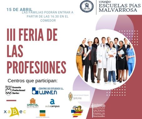 III FERIA DE LAS PROFESIONES